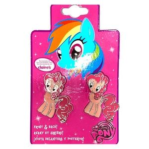 Pinky pie earrings